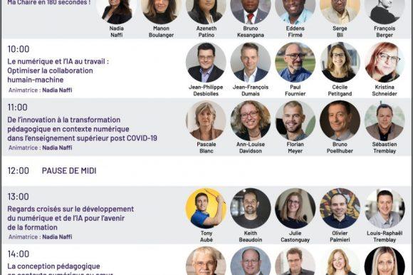 Participation de Renée Bourassa au symposium virtuel | Former pour agir en contexte numérique : CLE de la relance post-COVID- Table ronde : Quelle place à l'humain pour contrer les Deep Fakes?