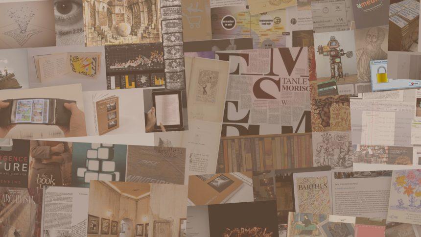Sortie de l'ouvrage en ligne : Le livre en contexte numérique, défi de design. Direction : Renée Bourassa